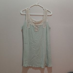 Tunic/Maternity - Mineral Green size Med.